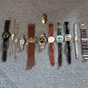 Bundle of 12 watches